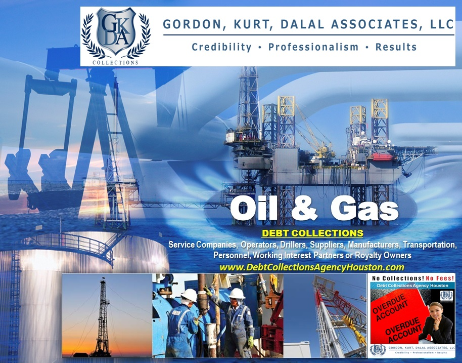 Debt Collections Agency working with Oil and Gas field Services Companies to collect debt from clients and vendors