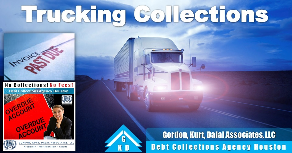 Trucking Collections Agency Houston - Debt Collections Company Exclusively for Trucking Companies - Freight Collections - 70% of Our Collections are from Out Of Business Companies - We sue Shippers and Consignees even if they paid their broker! Shipper or Consignees as the Debtor - Cargo Claims & Disputes