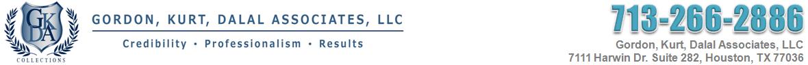 Debt Collections Agency Houston – Gordon, Kurt, Dalal Associates LLC – 713-266-2886