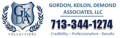 GKD Debt Collections Agency Houston Texas - 713-344-1274 - Logo